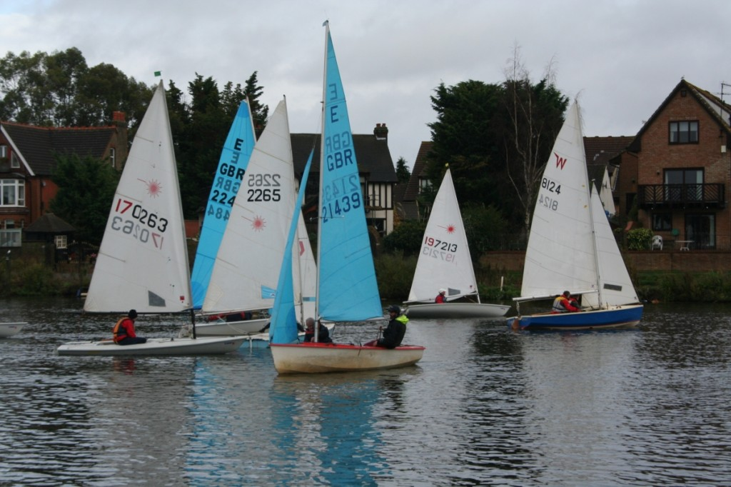 Trowlock Trophy 2014 prestart manoeuvres