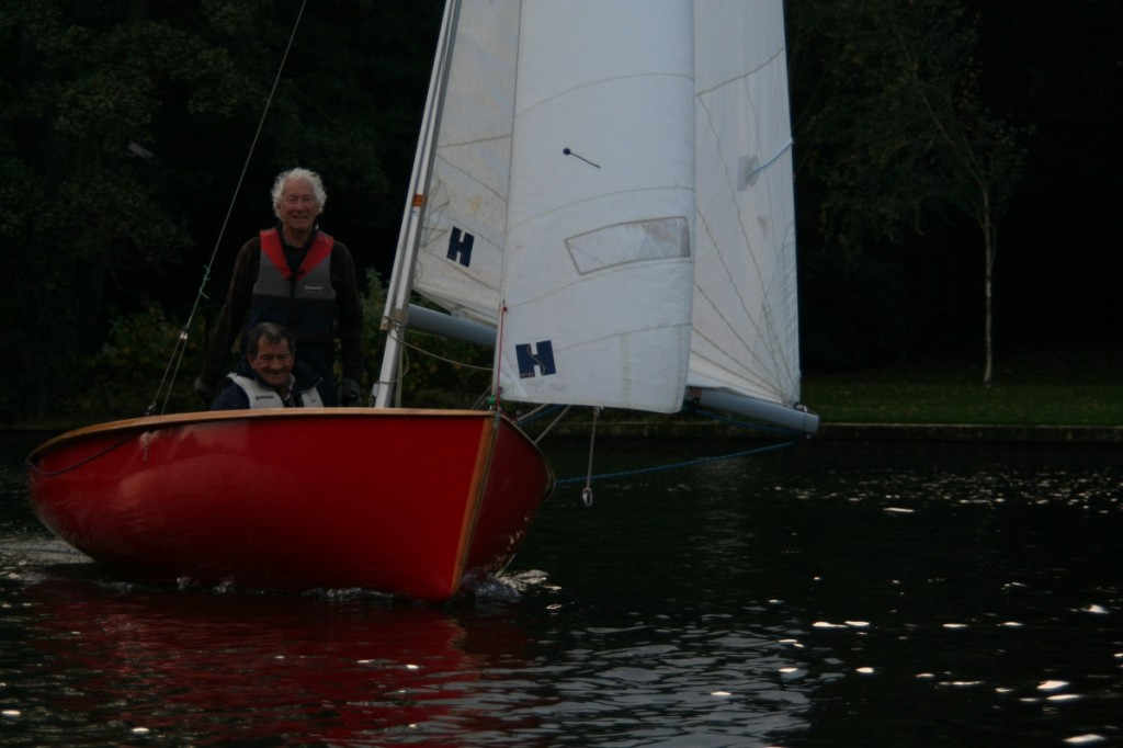 David Baker and Jim Green in Cobblers 2nd in Trowlock Trophy 2014