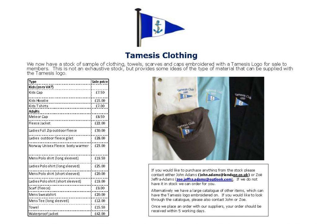 Tamesis clothing lsc2