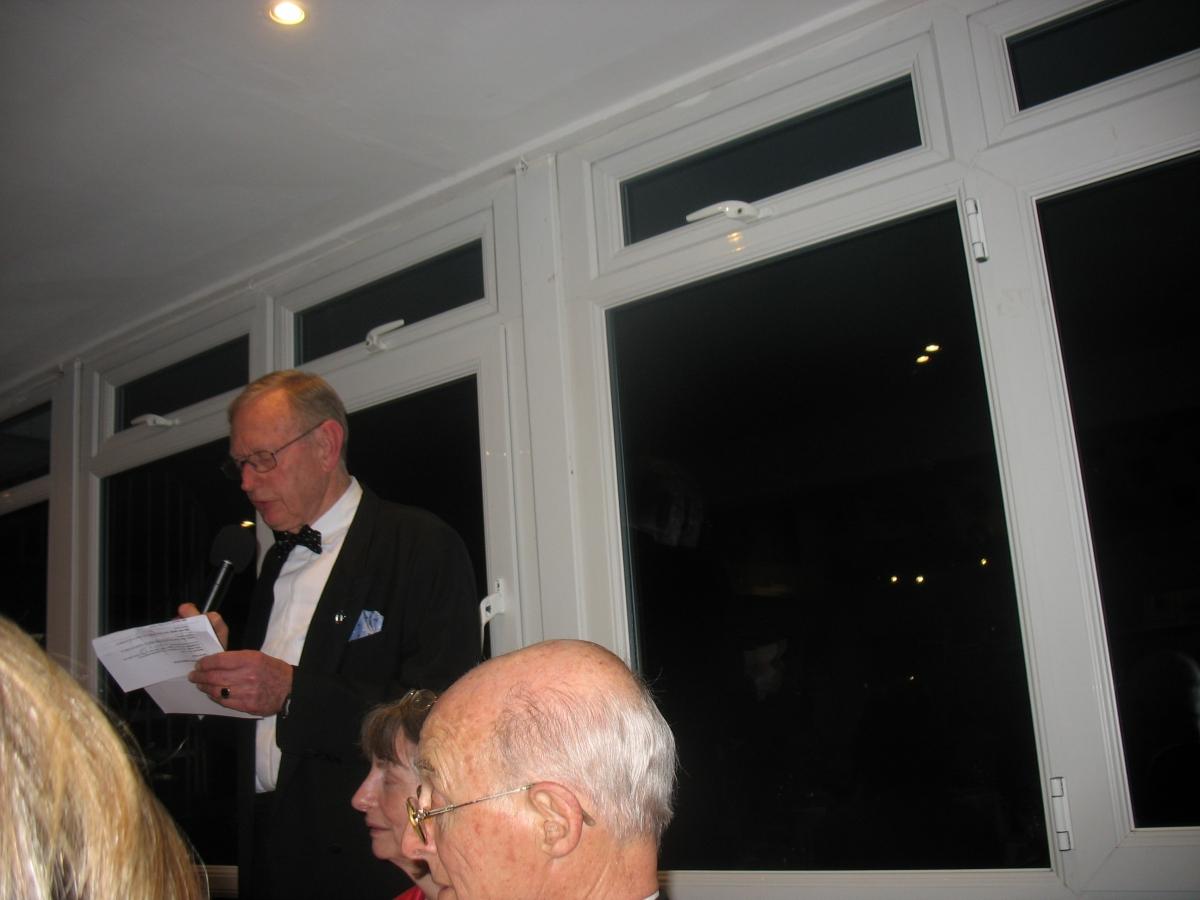 Vice Commodore Alan Green